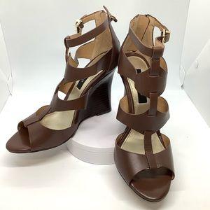 White House Black Market Briget Wedge Sandals